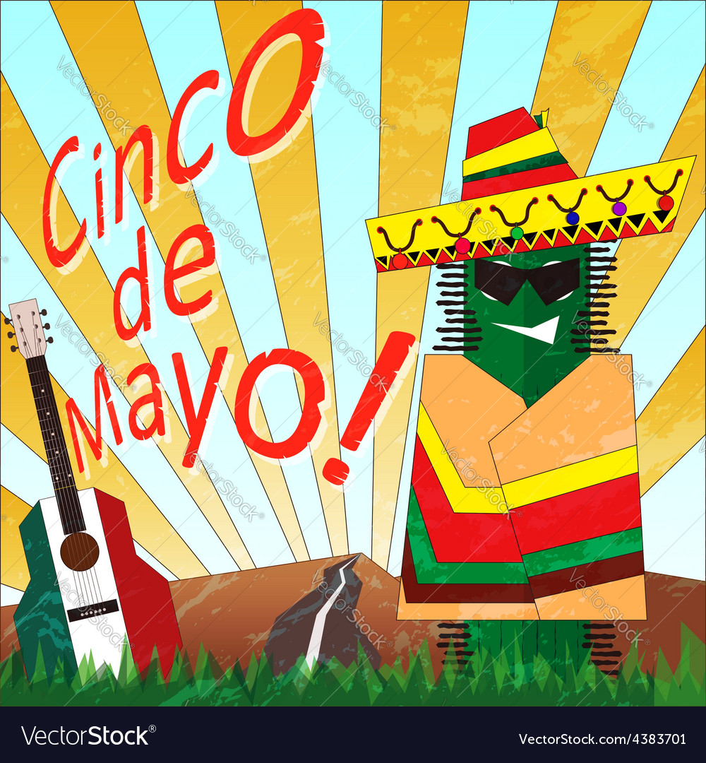 Cinco 1 vector | Price: 1 Credit (USD $1)