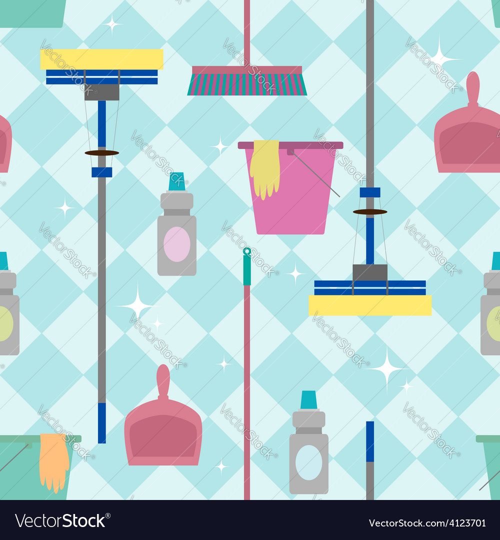 Cleaning pattern vector | Price: 1 Credit (USD $1)