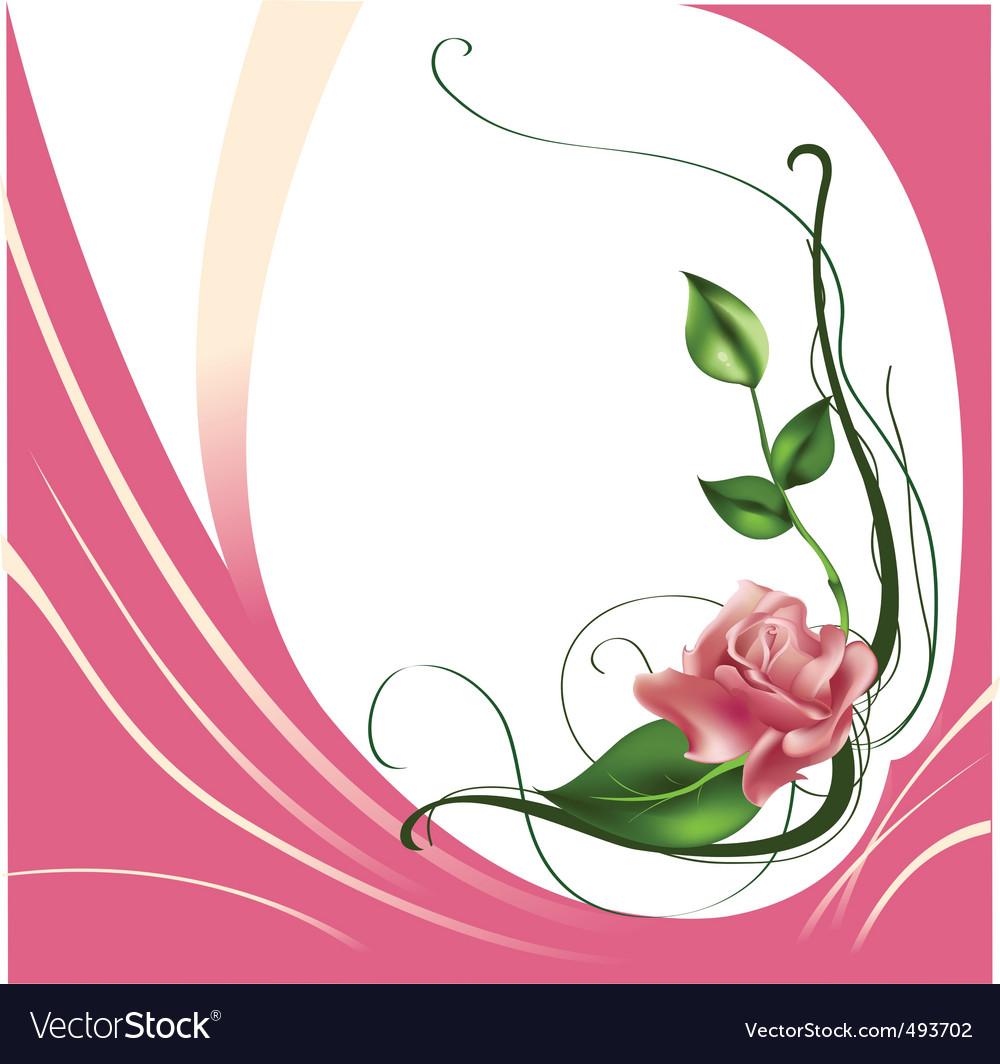 Beautiful rose vector | Price: 1 Credit (USD $1)