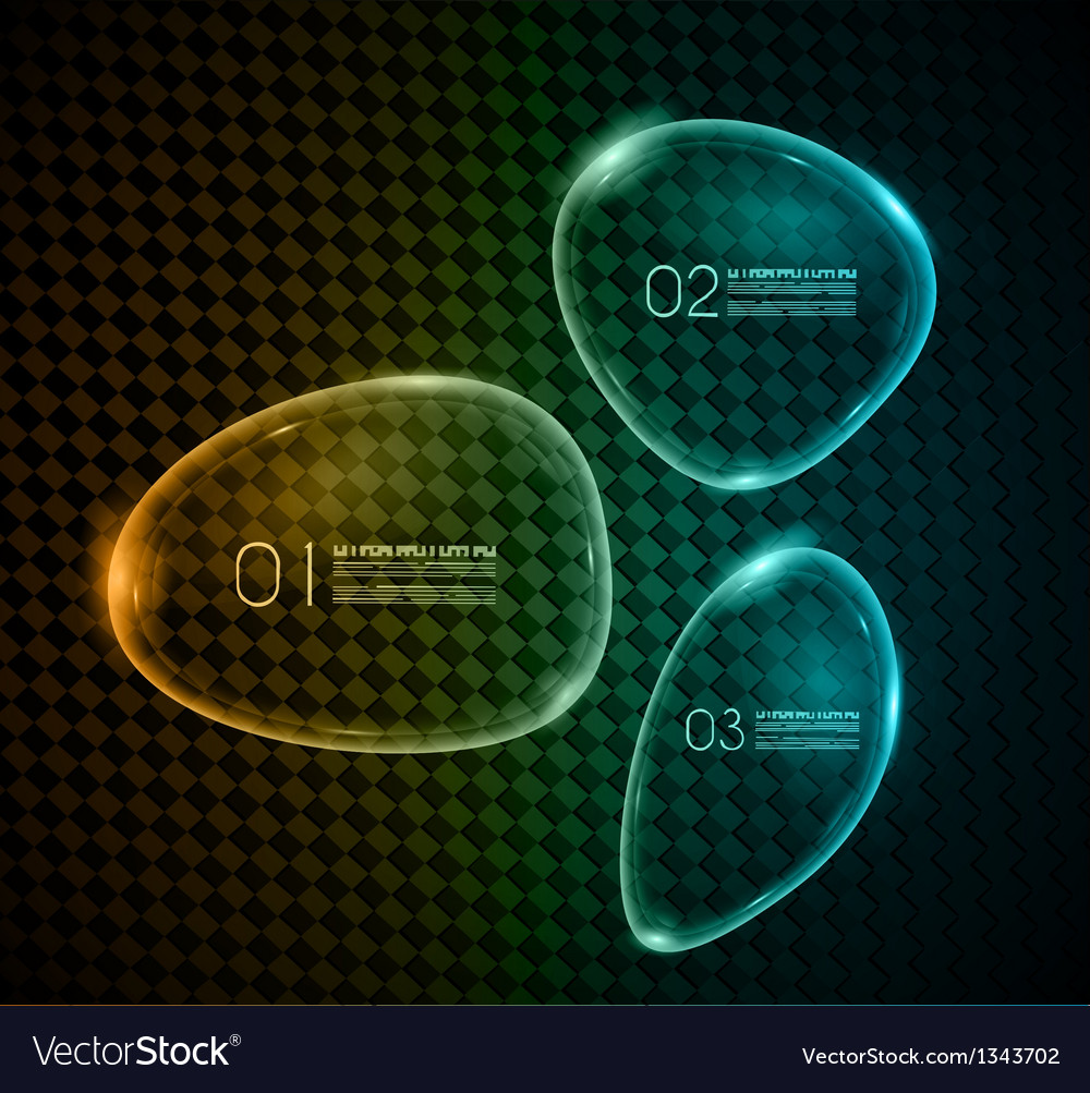 Bubble glass infographics over carbonium vector | Price: 1 Credit (USD $1)