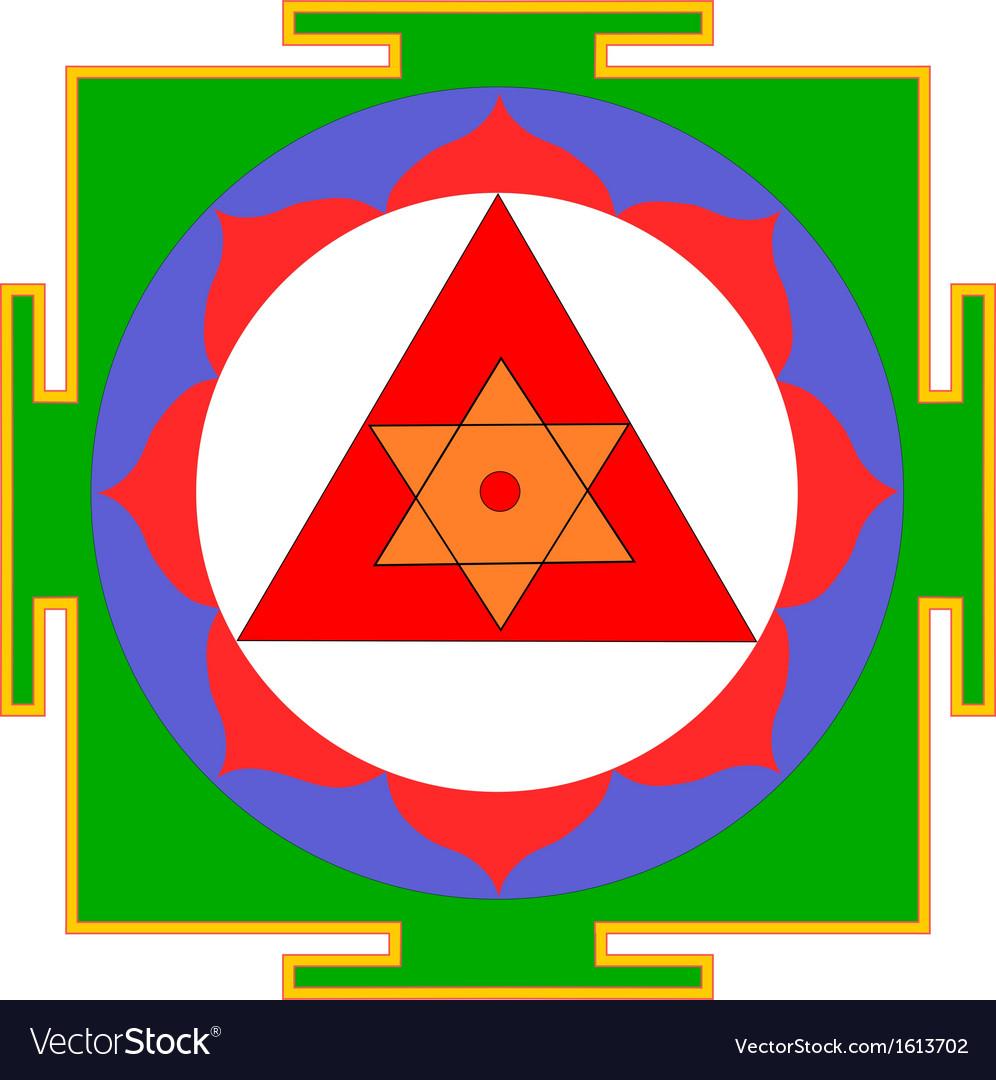 Ganesha yantra vector | Price: 1 Credit (USD $1)
