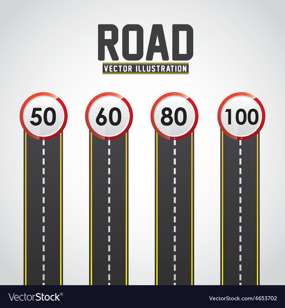 Road infographics vector | Price: 1 Credit (USD $1)