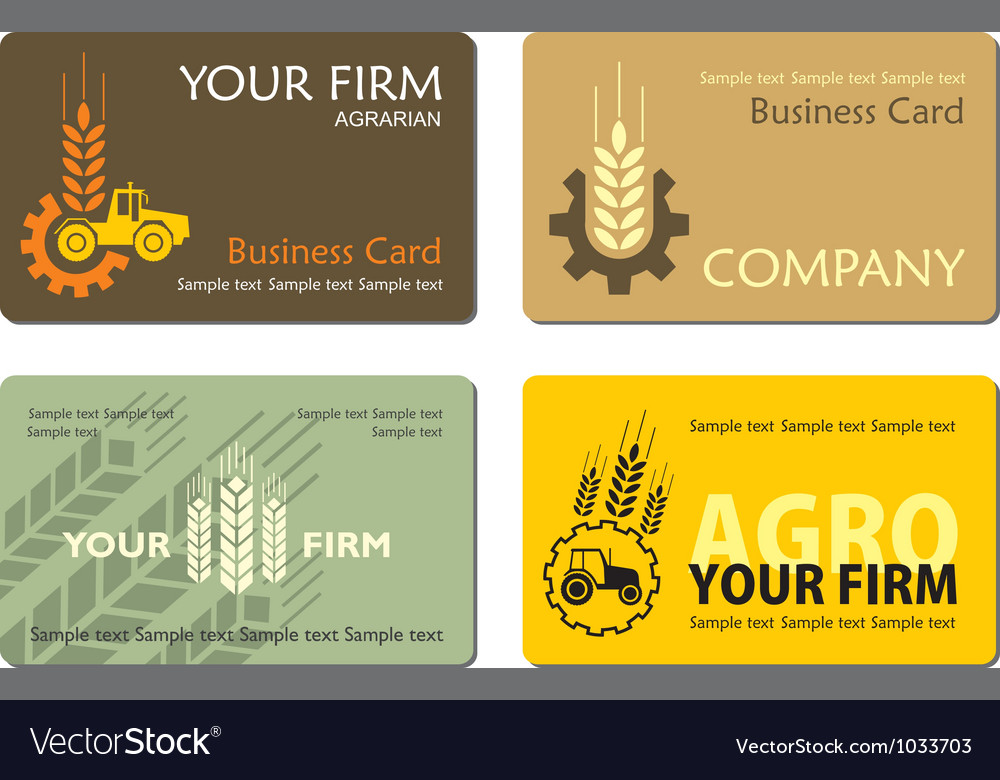 Agro card 001 vector | Price: 1 Credit (USD $1)