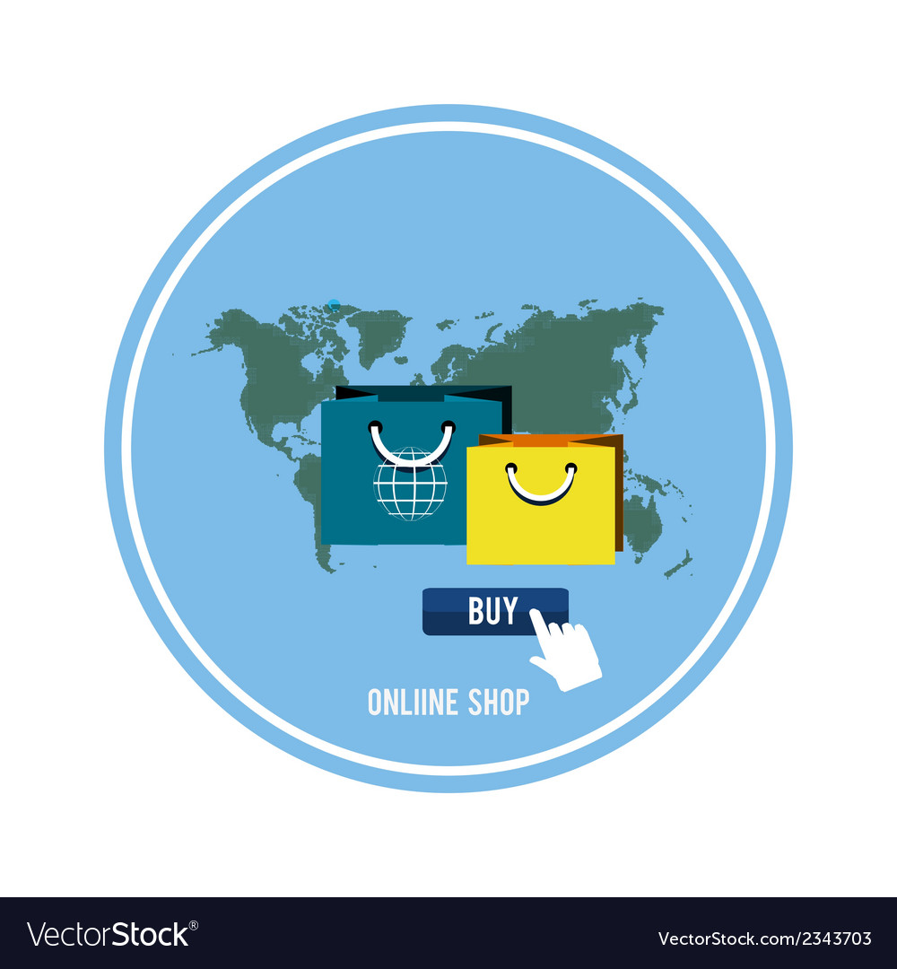 Business online icons vector   Price: 1 Credit (USD $1)