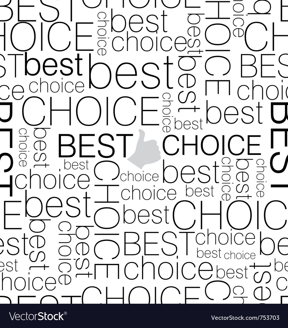 Seamless background best choice vector | Price: 1 Credit (USD $1)