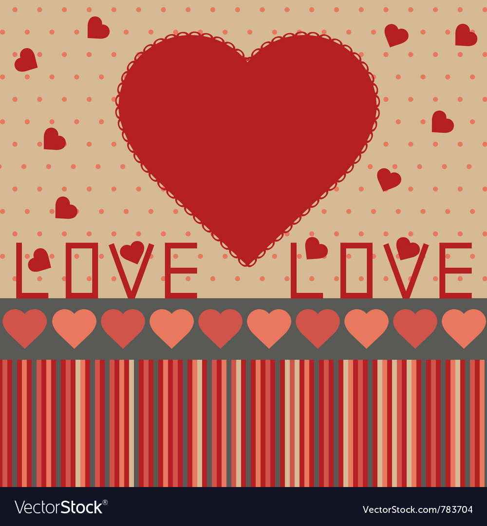 Background for valentines day vector | Price: 1 Credit (USD $1)