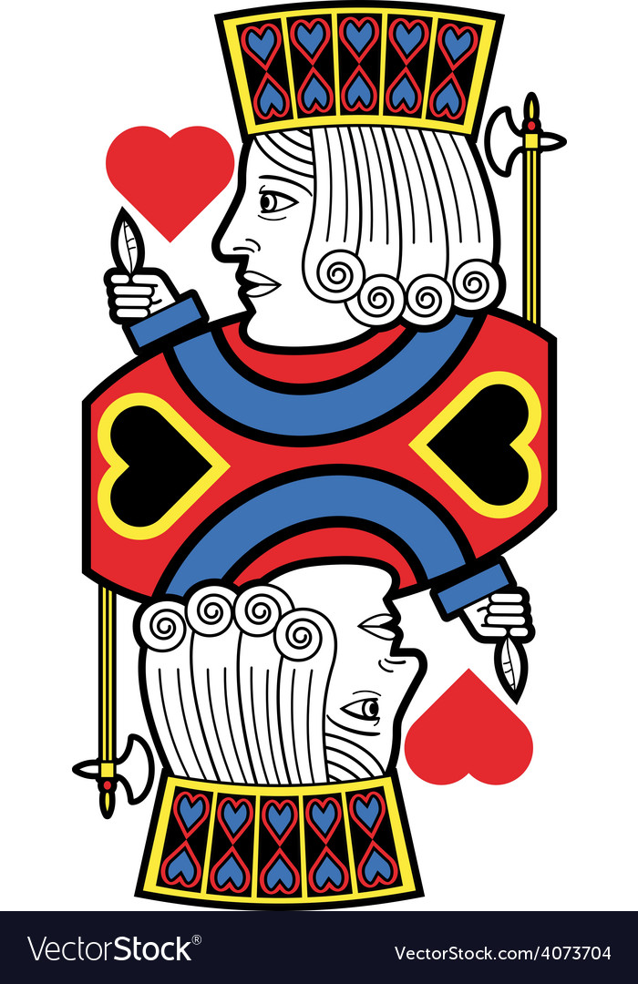Jack of hearts no card vector | Price: 1 Credit (USD $1)