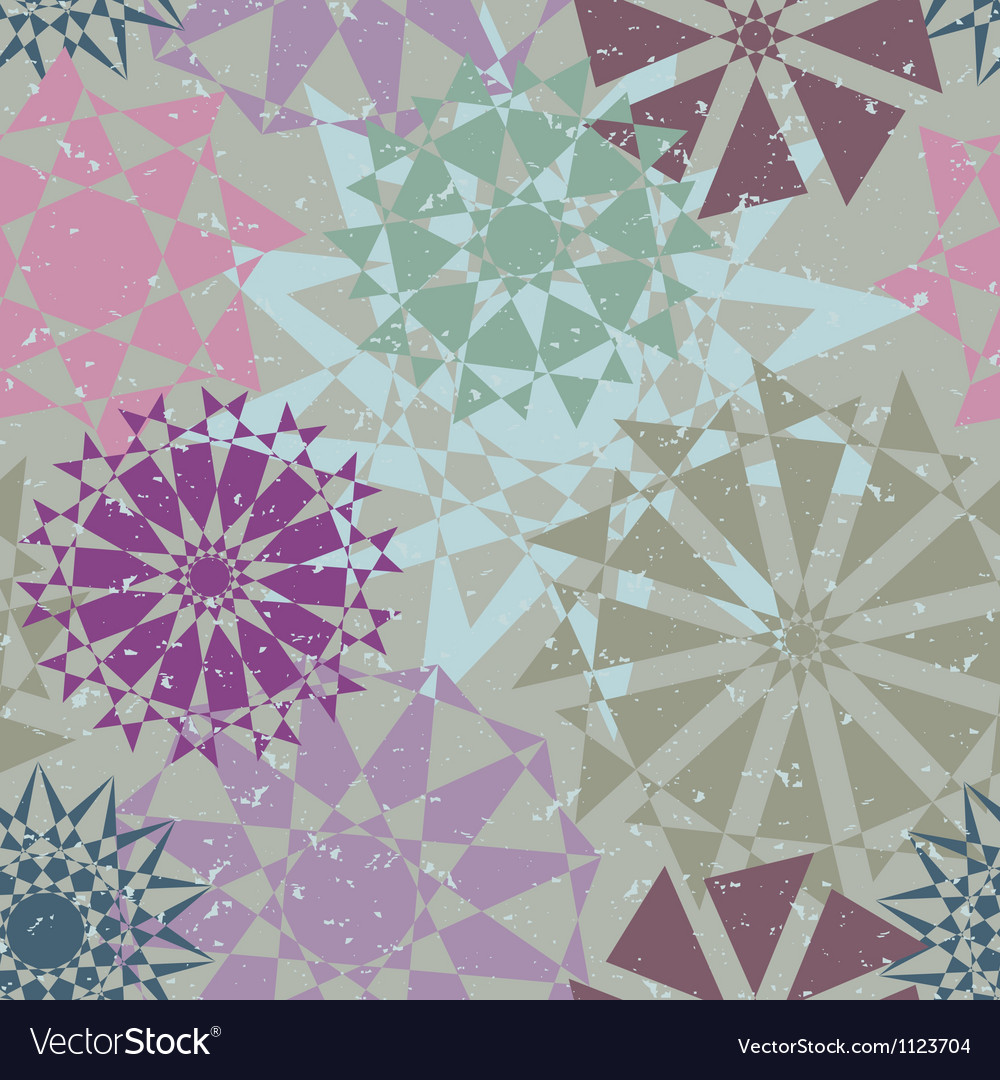 Kaleidoscope abstract background color rectangles vector | Price: 1 Credit (USD $1)