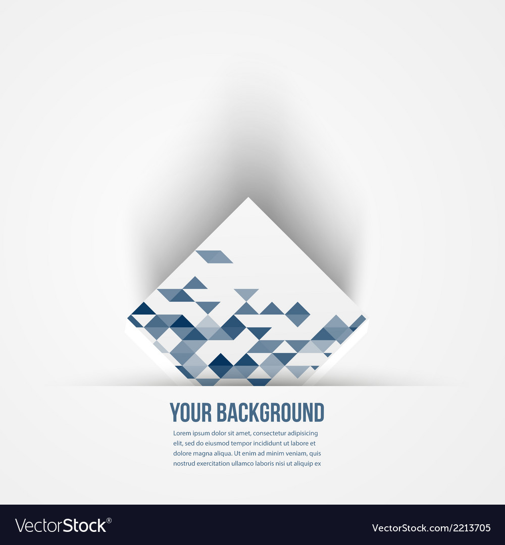 Abstract background 3d logo design vector | Price: 1 Credit (USD $1)