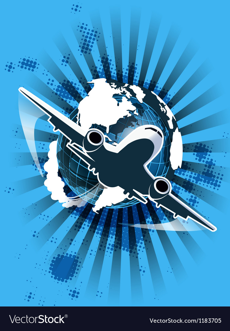 Civil aviation vector | Price: 1 Credit (USD $1)