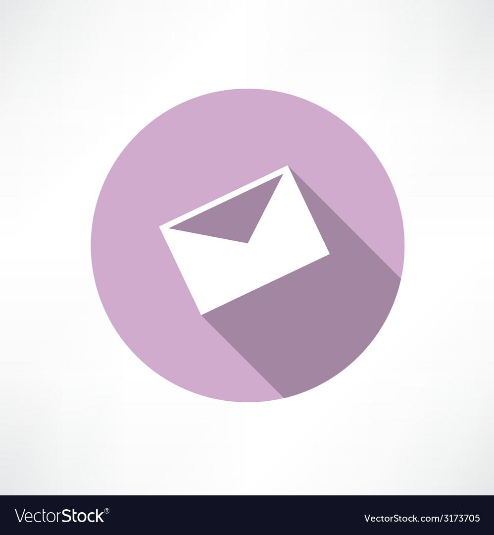 Envelope icon vector | Price: 1 Credit (USD $1)