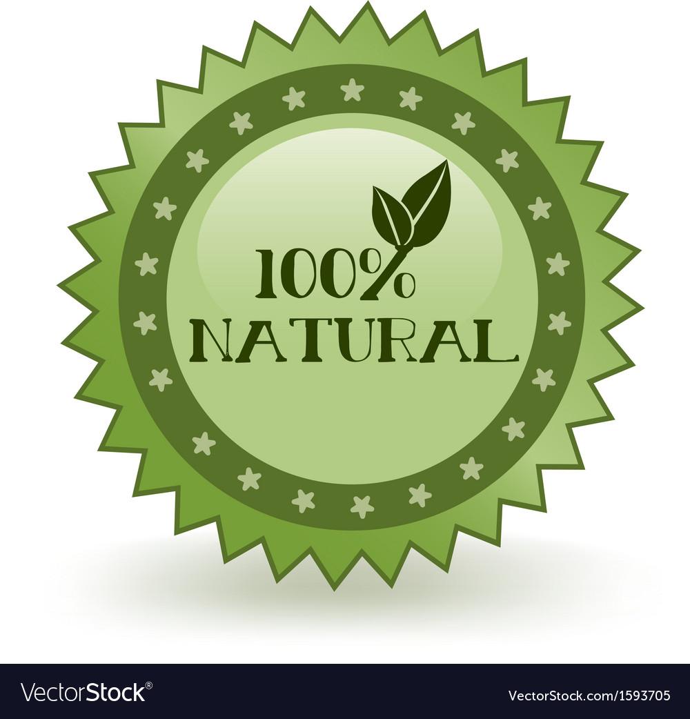 Natural icon vector | Price: 1 Credit (USD $1)