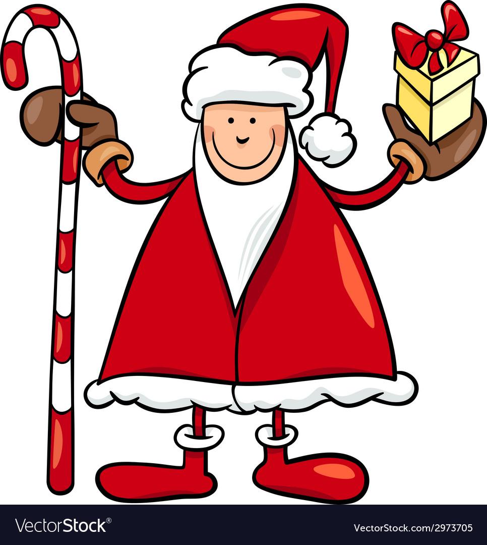 Santa claus cartoon vector | Price: 1 Credit (USD $1)