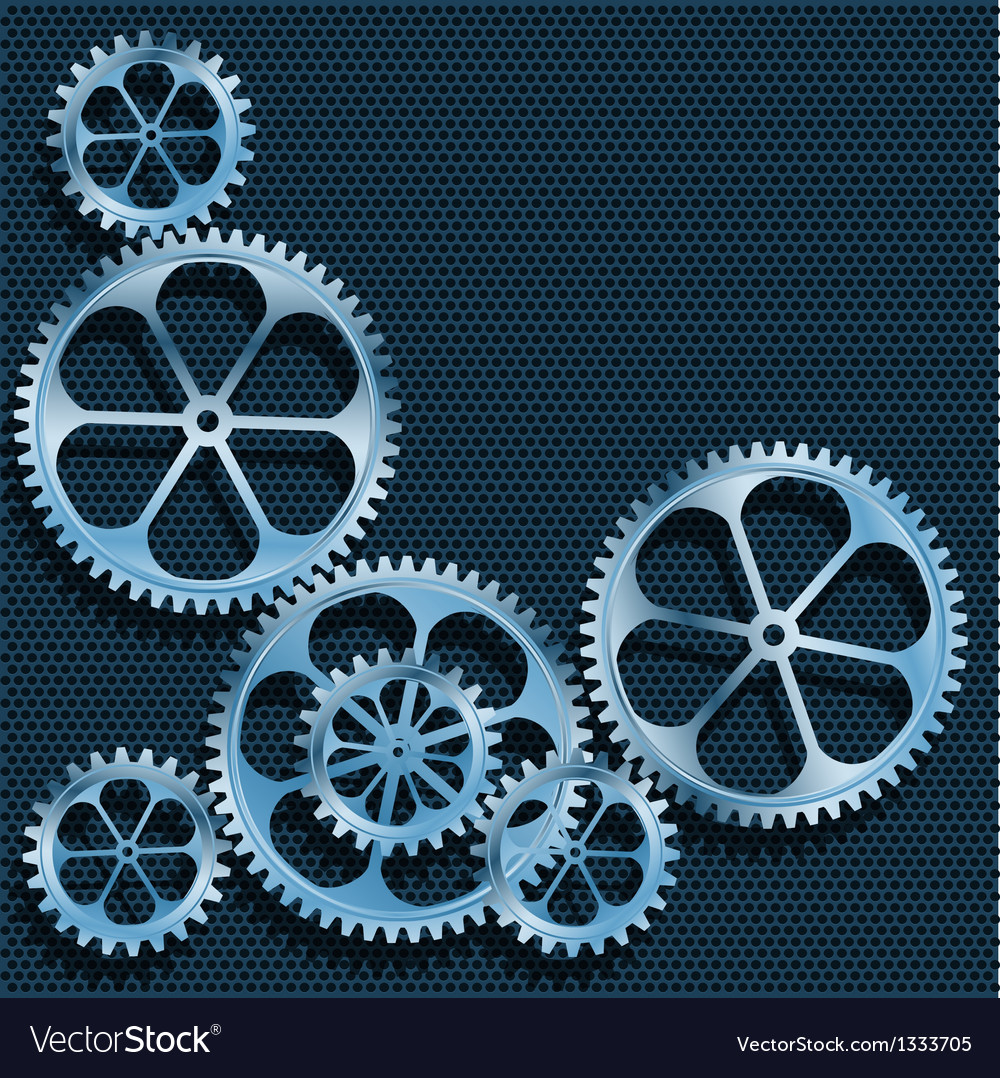 Technical background abstract gear vector | Price: 1 Credit (USD $1)