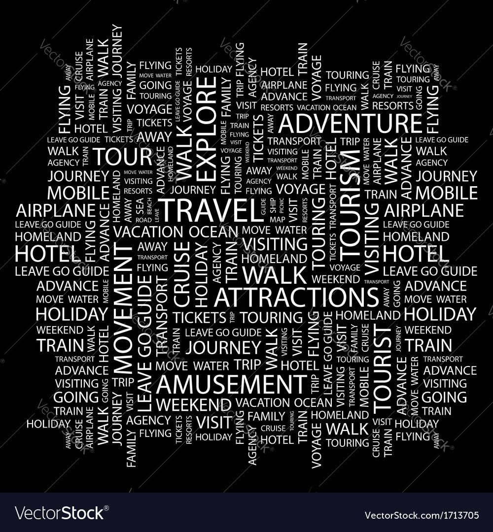 Travel vector | Price: 1 Credit (USD $1)