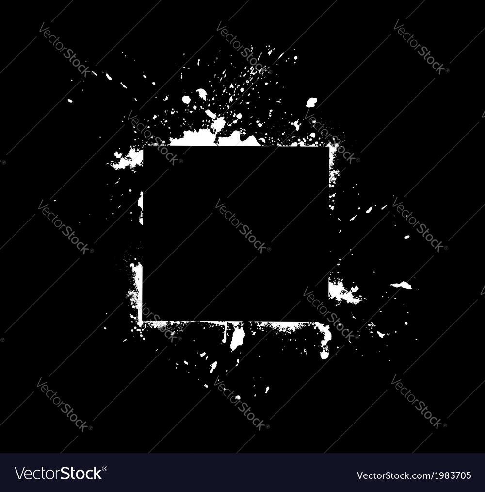 White frame on black vector   Price: 1 Credit (USD $1)