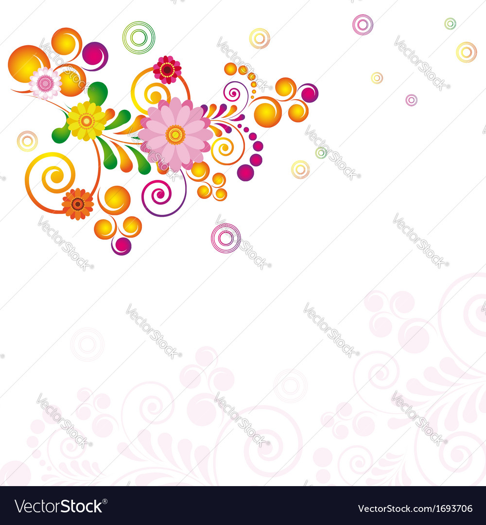 - flowers no blends no gradient meshes ep vector | Price: 1 Credit (USD $1)