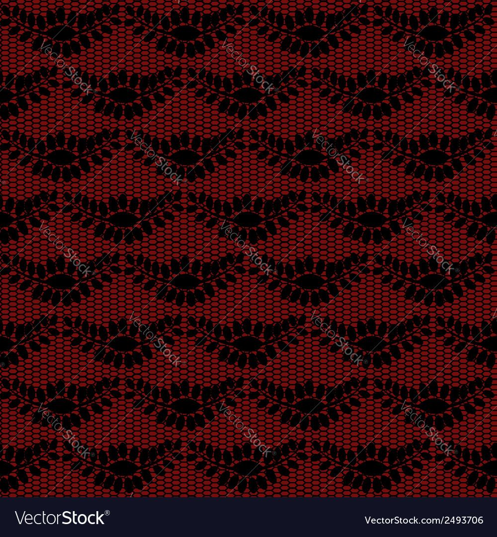 Black floral lacy background vector | Price: 1 Credit (USD $1)