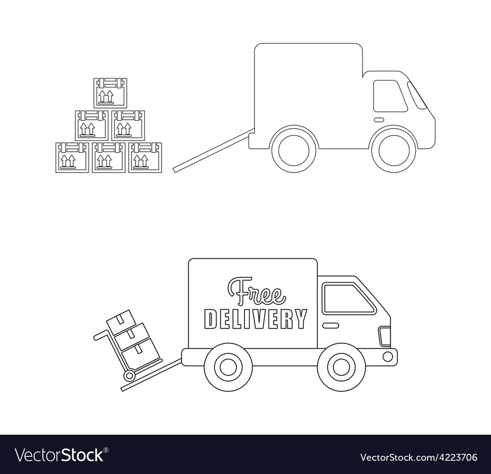 Delivery concept vector | Price: 1 Credit (USD $1)