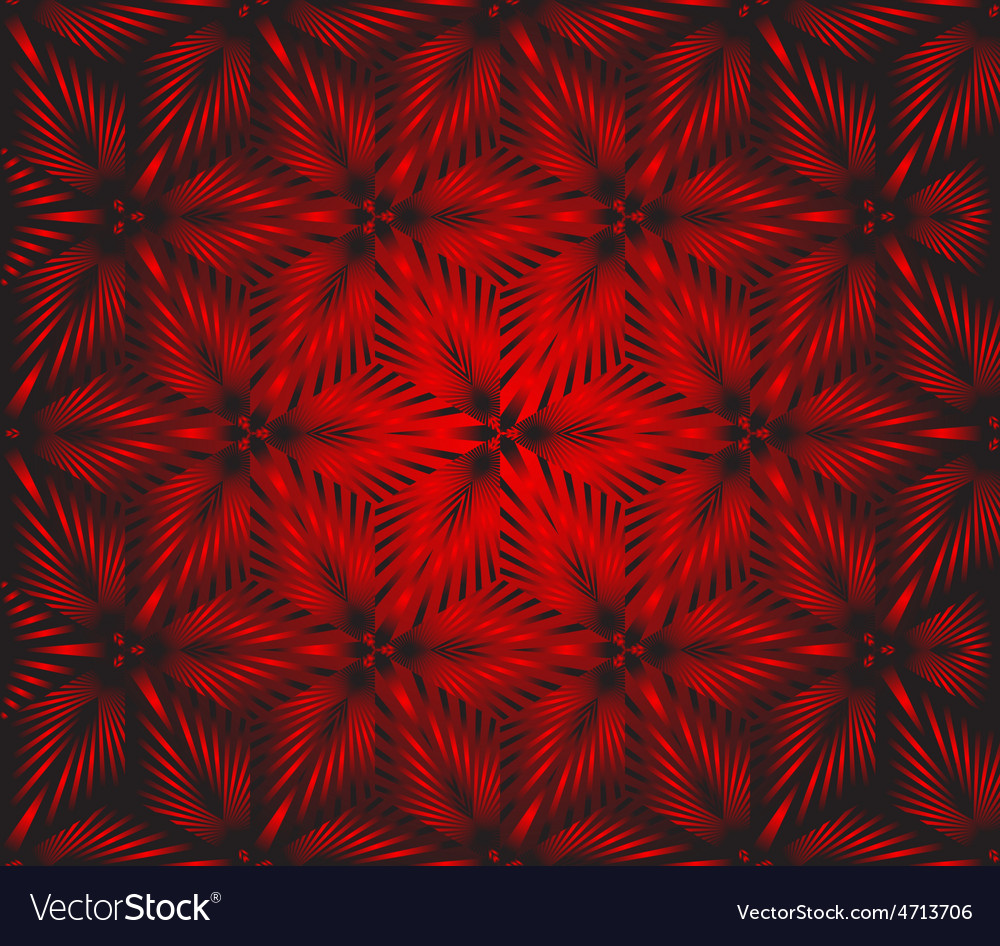Seamless floral red vector | Price: 1 Credit (USD $1)