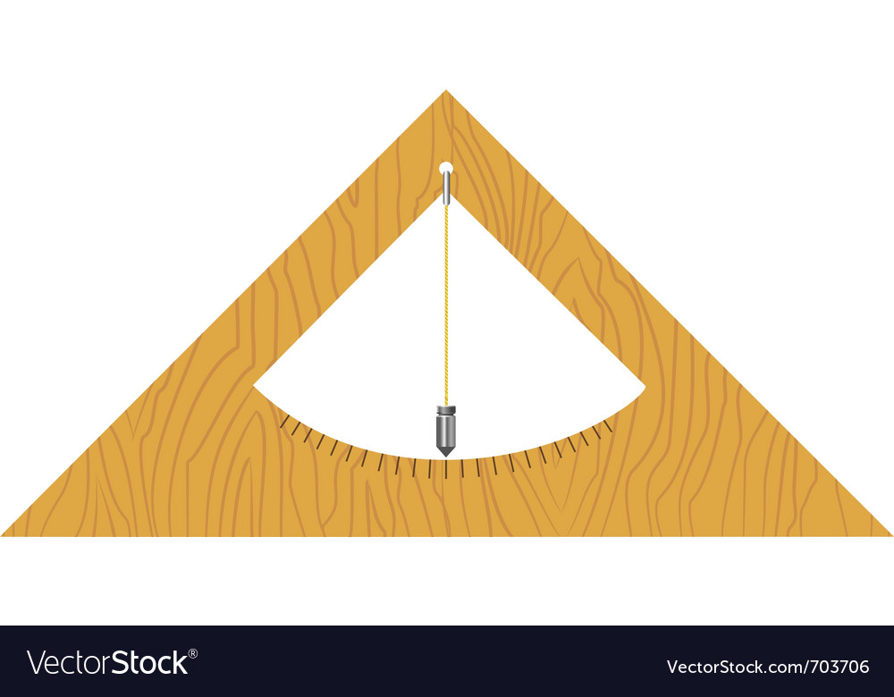 Wooden builders level vector | Price: 1 Credit (USD $1)