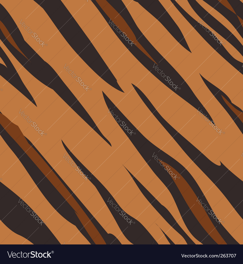 Tiger skin print pattern vector | Price: 1 Credit (USD $1)