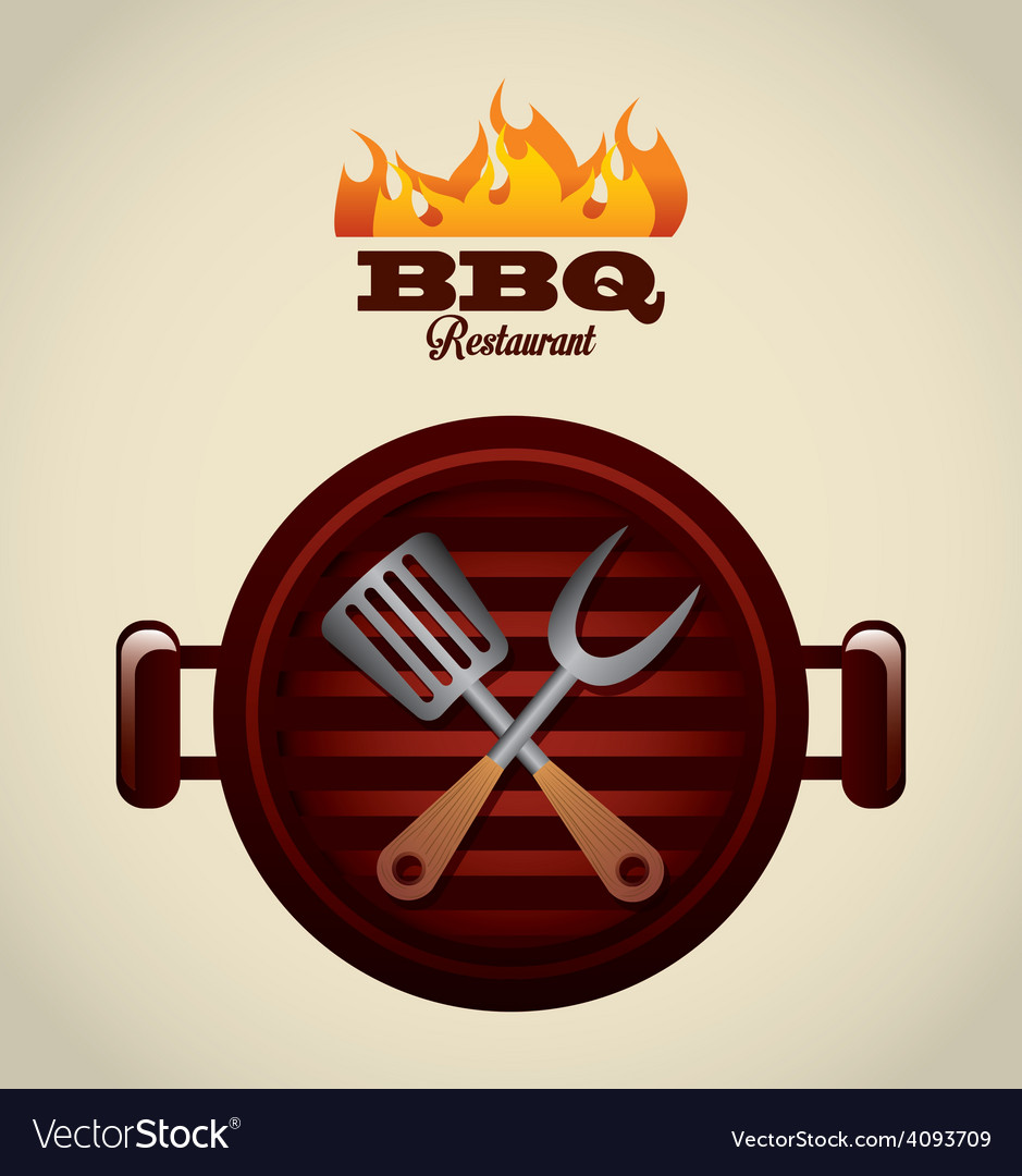 Barbecue food vector | Price: 1 Credit (USD $1)