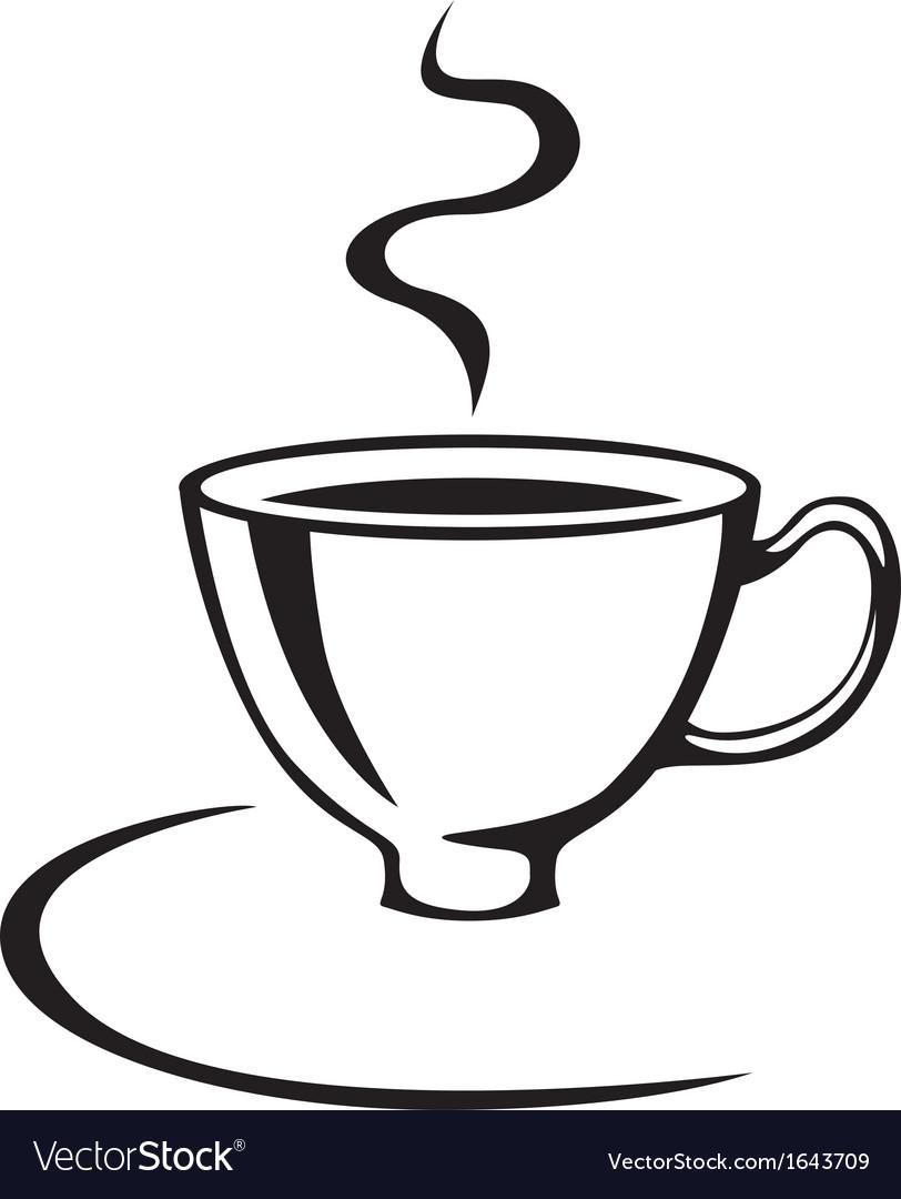 Cofee cup vector | Price: 1 Credit (USD $1)