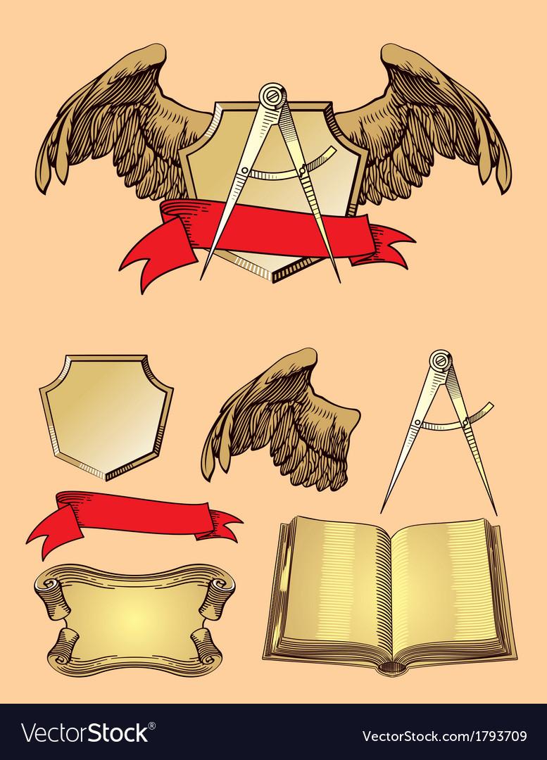 Emblem design element vector   Price: 1 Credit (USD $1)