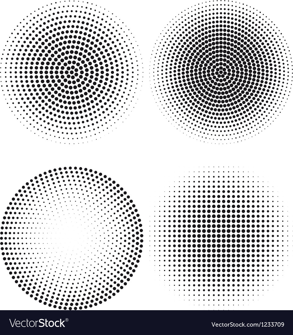 Halftone dot pattern vector | Price: 1 Credit (USD $1)