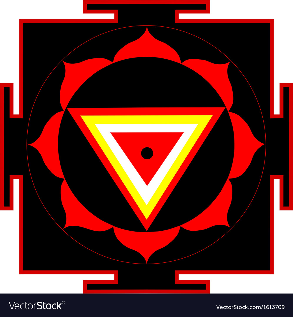 Kali yantra vector | Price: 1 Credit (USD $1)