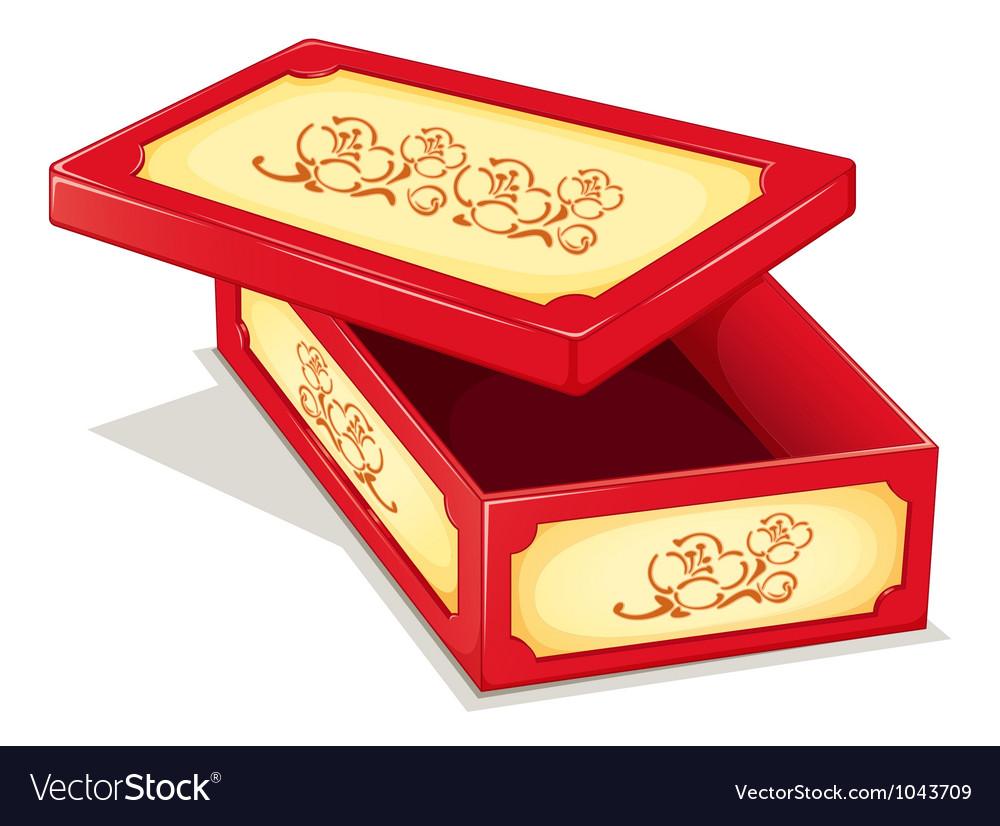 Ornate box vector | Price: 1 Credit (USD $1)