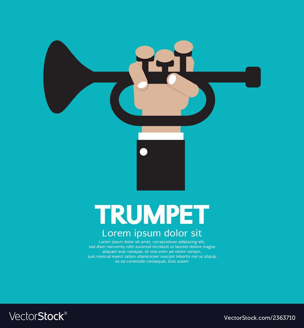 Trumpet vector | Price: 1 Credit (USD $1)