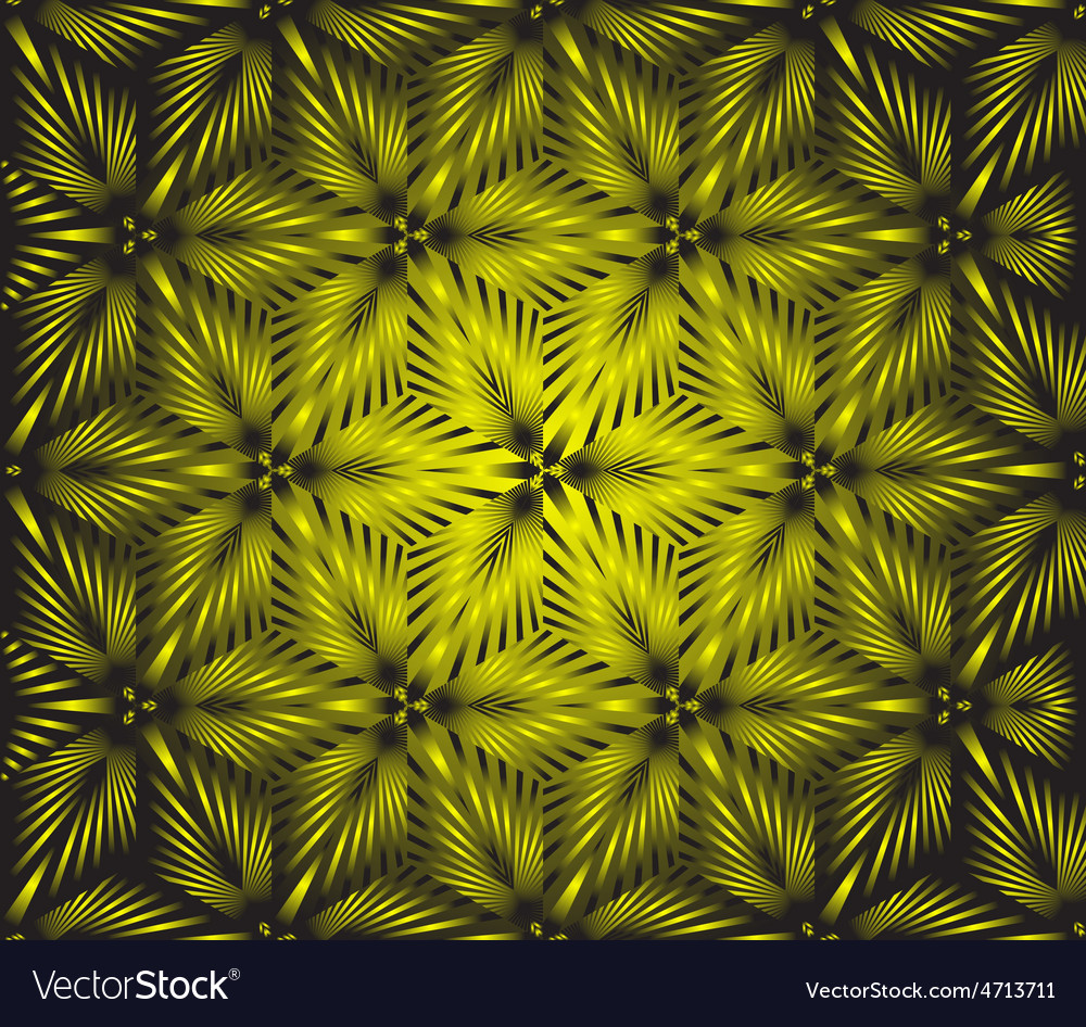Seamless floral yellow vector | Price: 1 Credit (USD $1)