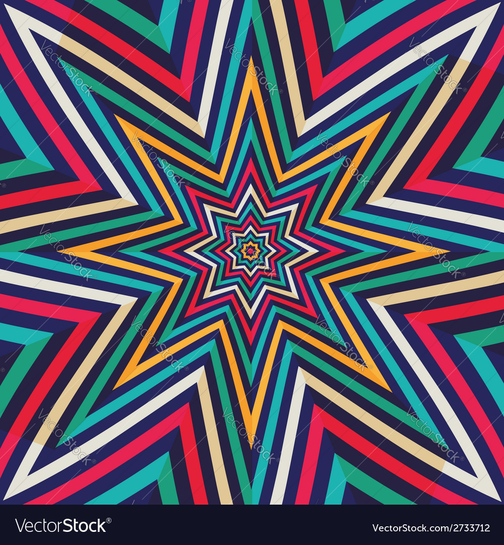 Abstract background - crazy colorful lines vector | Price: 1 Credit (USD $1)