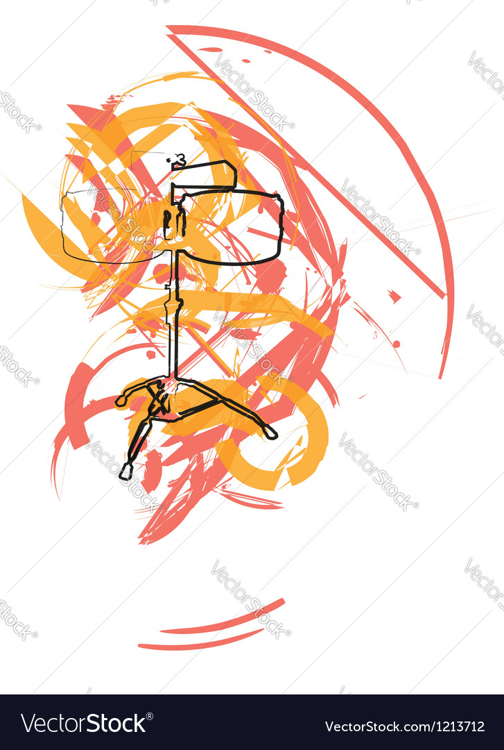 Abstract drum vector   Price: 1 Credit (USD $1)