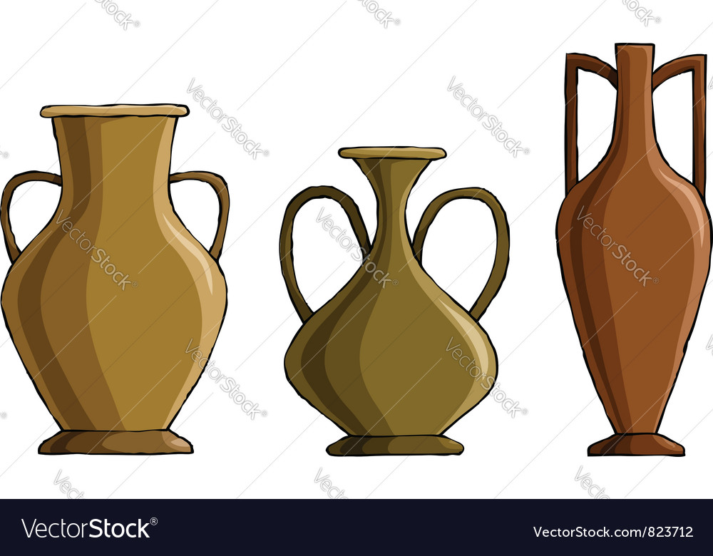 Amphora vector | Price: 1 Credit (USD $1)