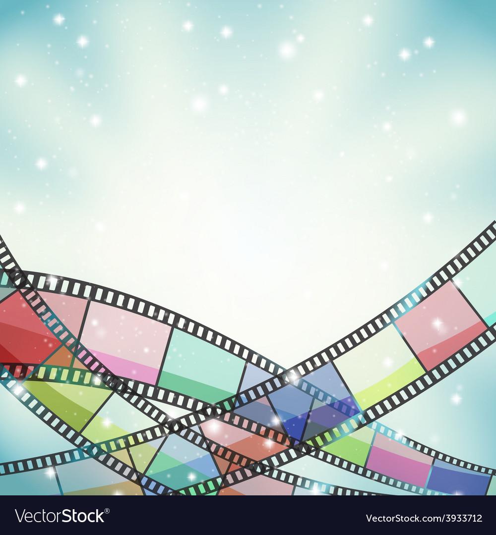 Film background retro vector | Price: 1 Credit (USD $1)