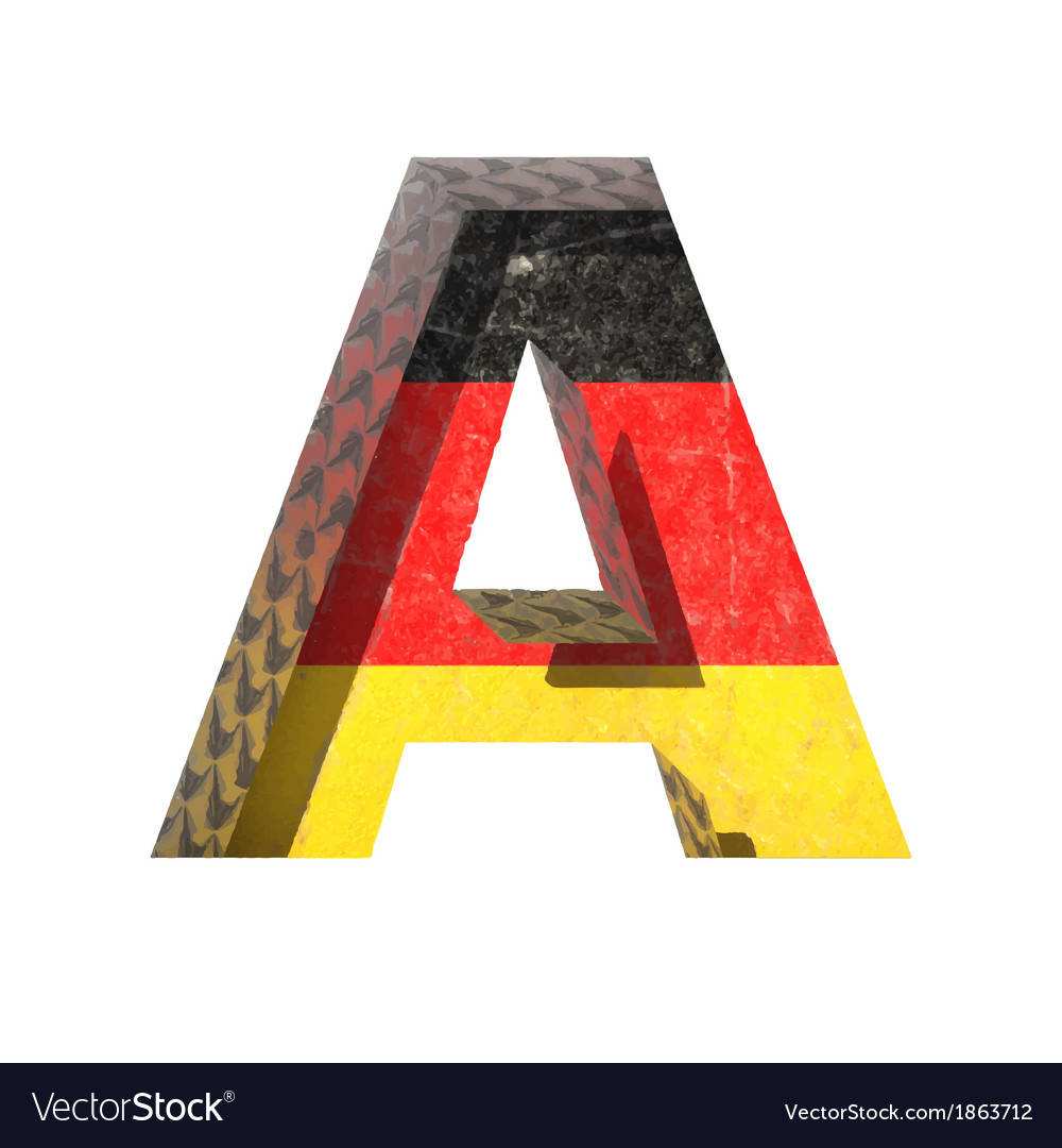 Germany cutted figure a vector | Price: 1 Credit (USD $1)