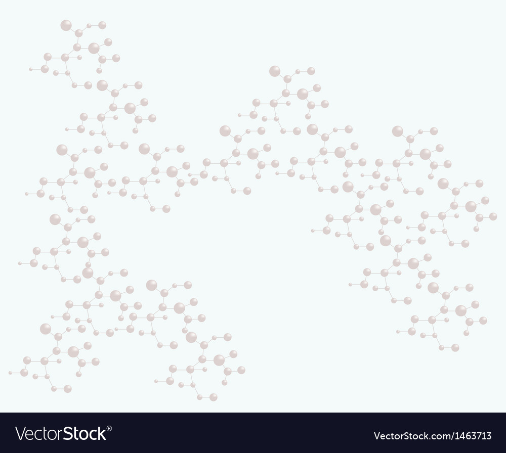 Abstract molecular structure backgroundv vector | Price: 1 Credit (USD $1)