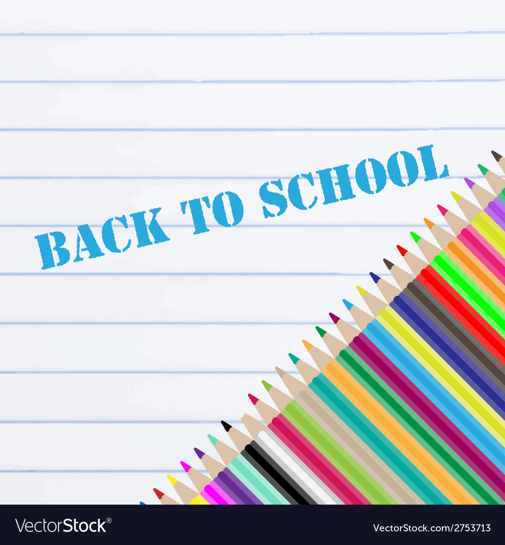 Back to school chalkboard vector | Price: 1 Credit (USD $1)