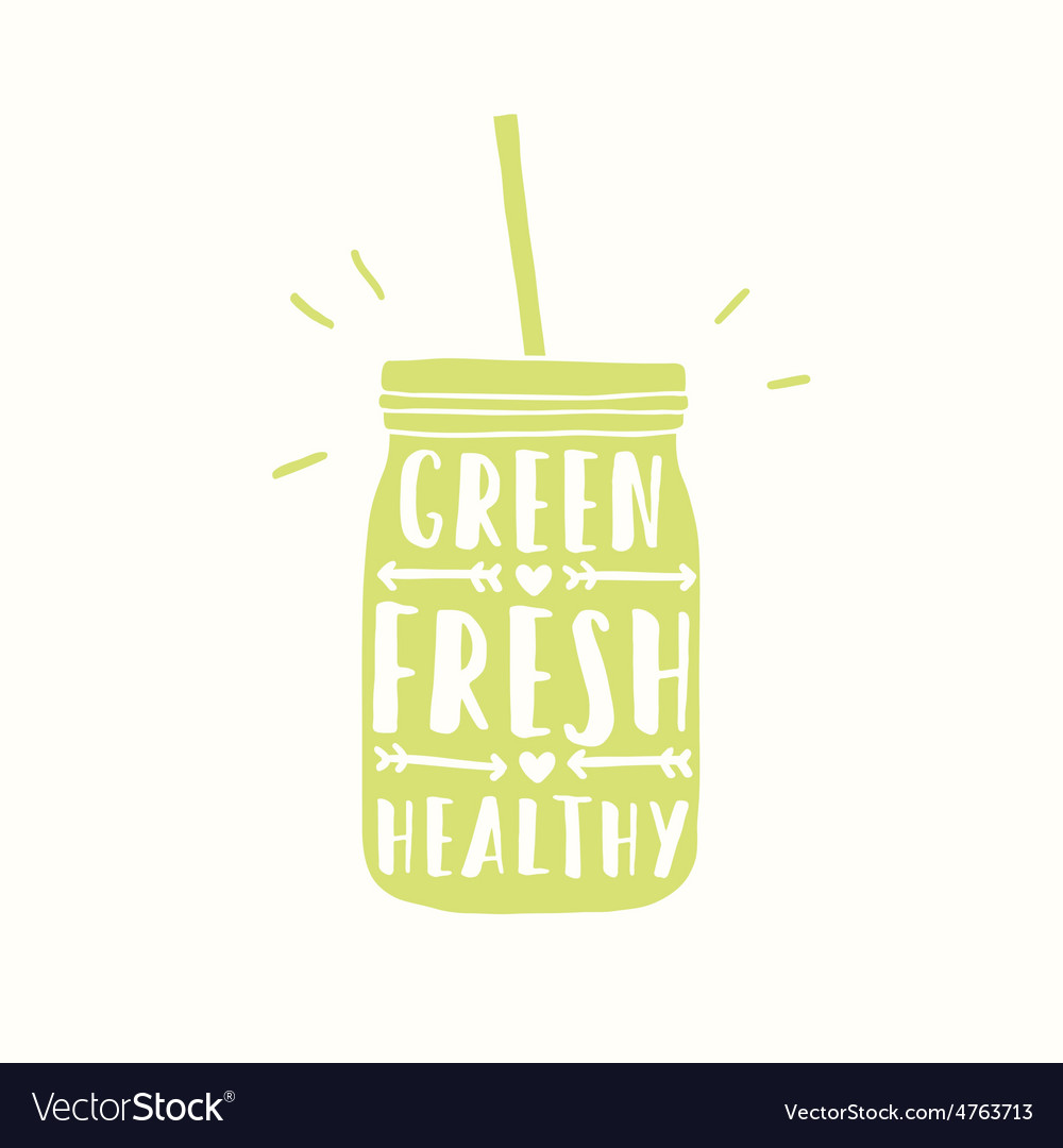 Freshly made with real fruits juice or smoothie vector | Price: 1 Credit (USD $1)