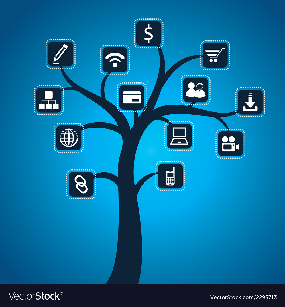 Social media icon stock vector | Price: 1 Credit (USD $1)