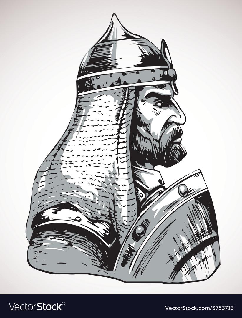 Warrior vector | Price: 3 Credit (USD $3)