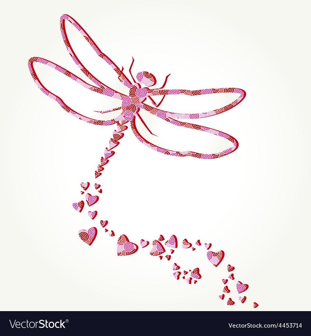 Dragonfly decal vector | Price: 1 Credit (USD $1)