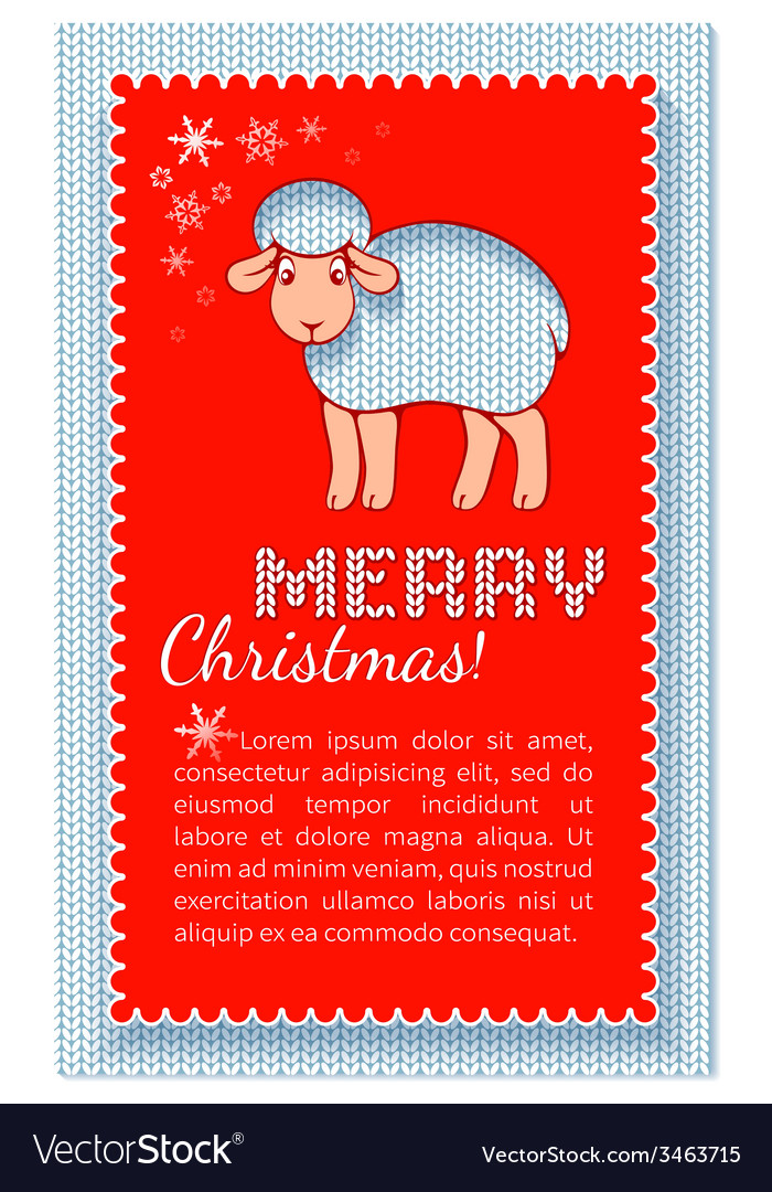 Christmas layered red card vector | Price: 1 Credit (USD $1)