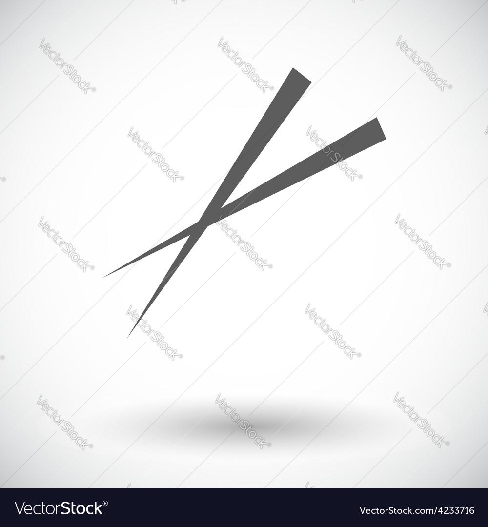 Chopsticks vector | Price: 1 Credit (USD $1)
