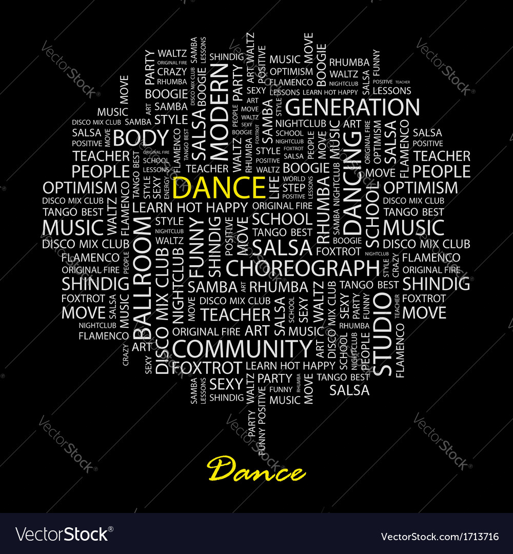 Dance vector | Price: 1 Credit (USD $1)