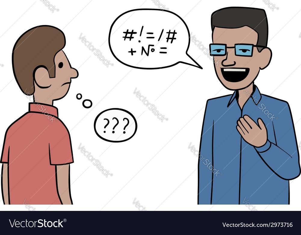 Misunderstanding vector | Price: 1 Credit (USD $1)