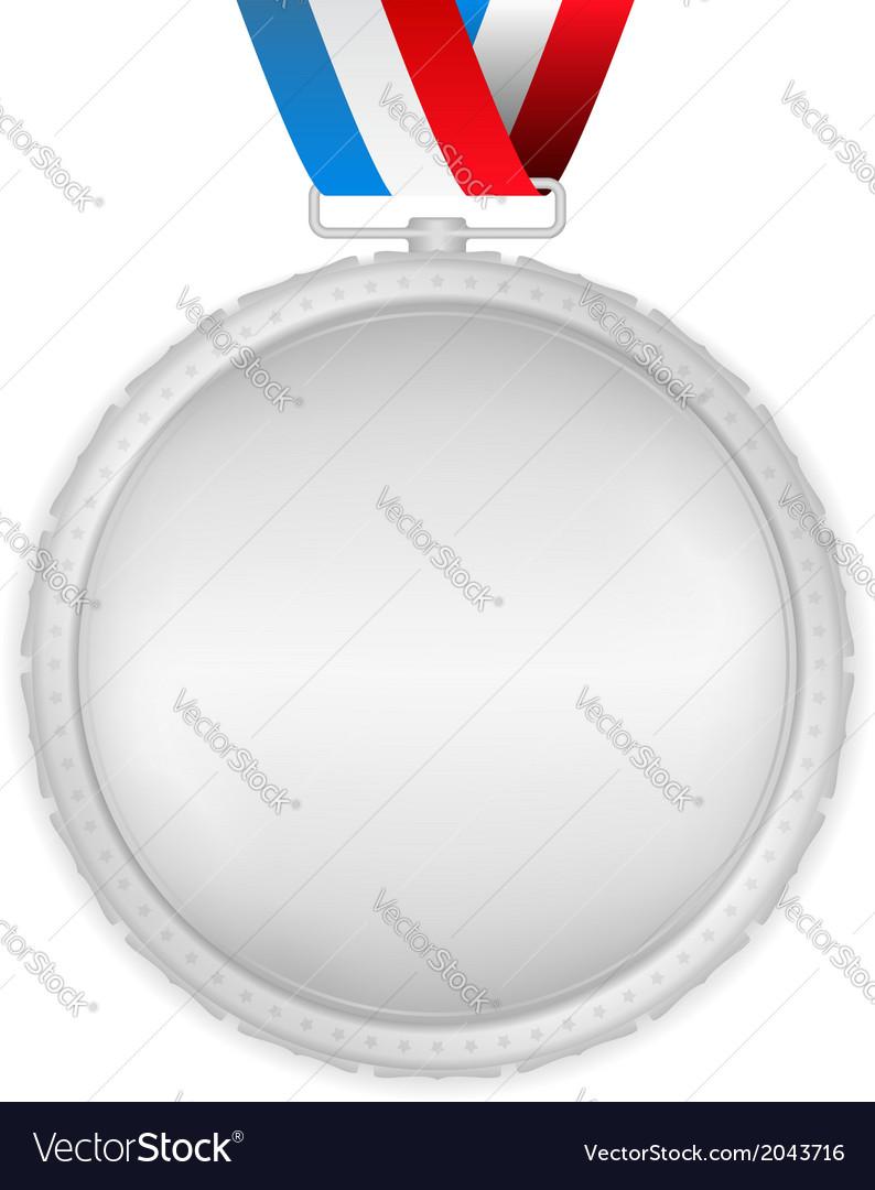 Silver medal vector | Price: 1 Credit (USD $1)